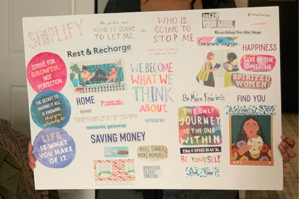How To Make A Vision Board In 2020 That Works Gorgeous Mindset